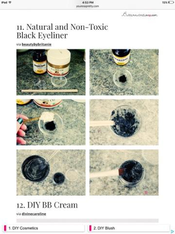 Homemade Non-Toxic Black Eyeliner  https://beautybybritanie.com/2013/02/21/diy-natural-and-non-toxic-black-eyeliner/