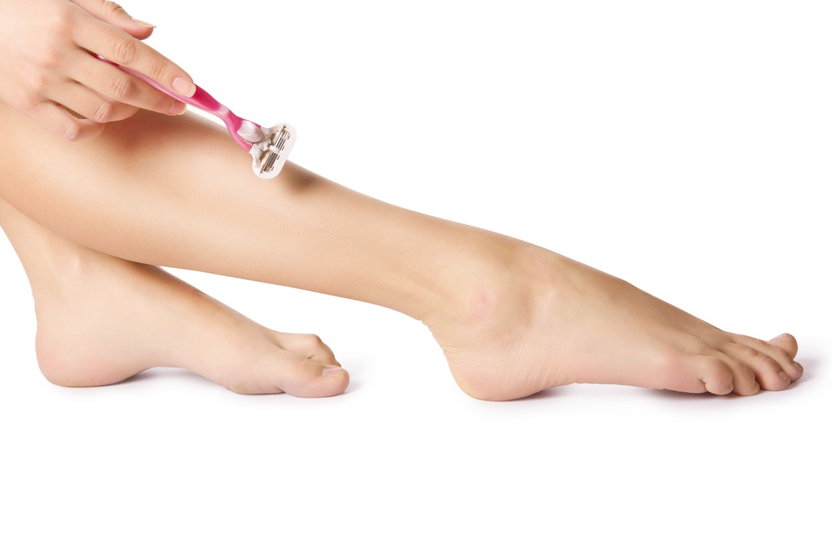 Use conditioner instead of shaving cream for a closer shave and less irritated skin.
