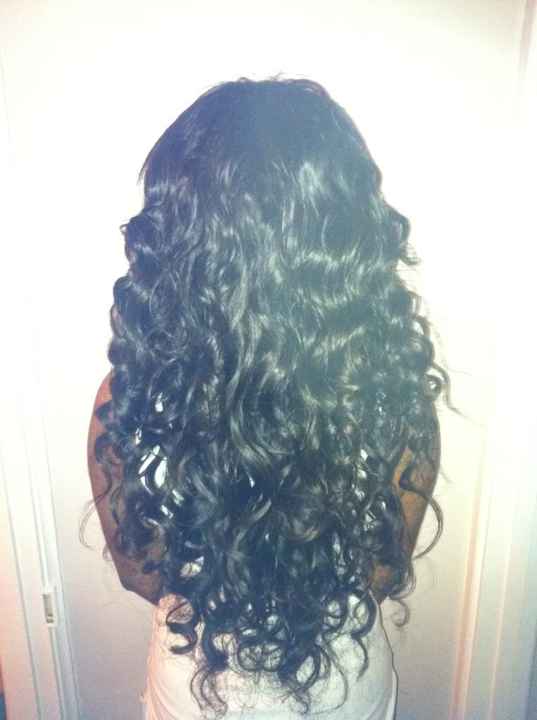 Take the fish tail out in the morning and you will have gorgeous curly hair