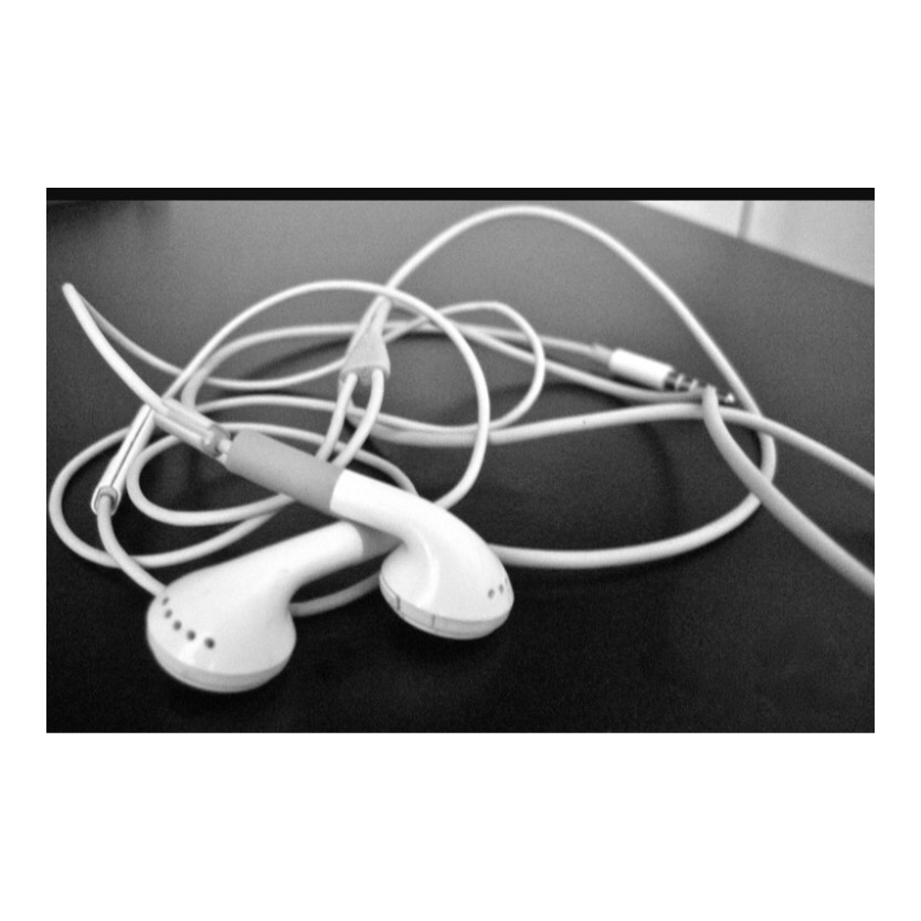 earphones. give you a little pep in your step.