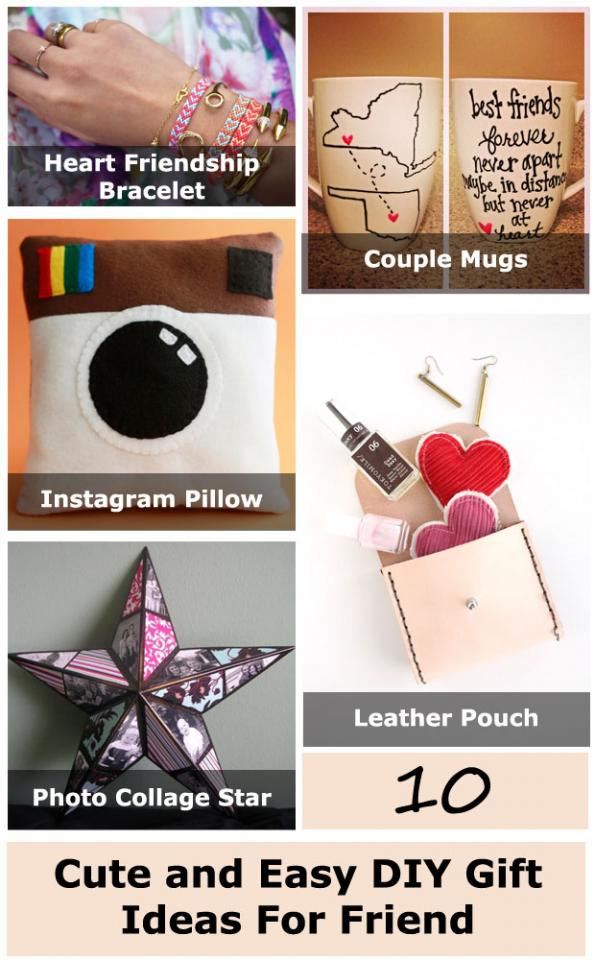 Cute And Easy DIY Gift Ideas For Friend!!