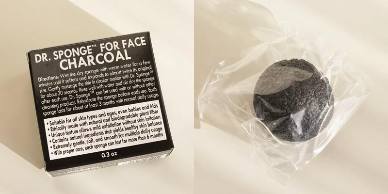 4. Konjac can be infused with any ingredient (charcoal, in this case) for your skin type.  5. They work for all ages and skin types.  6. They're clean for your face and for the environment – they're biodegradable!