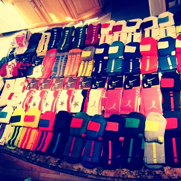 Wether you change for gym or not you should always have socks