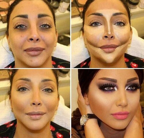 Makeup Tutorials Step By Face