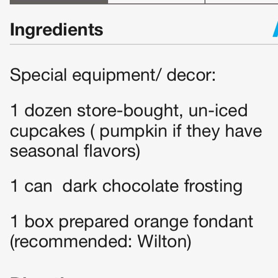 Ingredients.