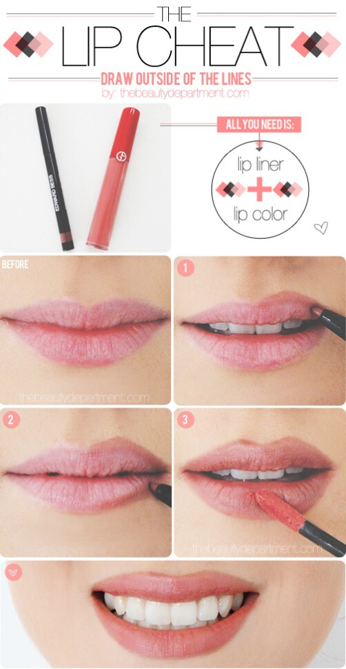 Tips To Make Your Lips Look Bigger by Devesha Joshi - Musely