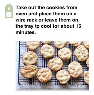 Now enjoy some delicious homemade cookies :)