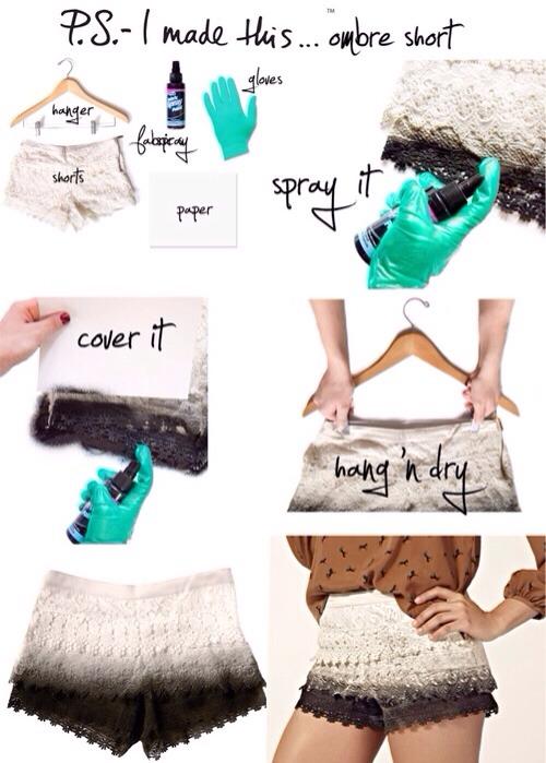 Spray it, dry it, wear it!
