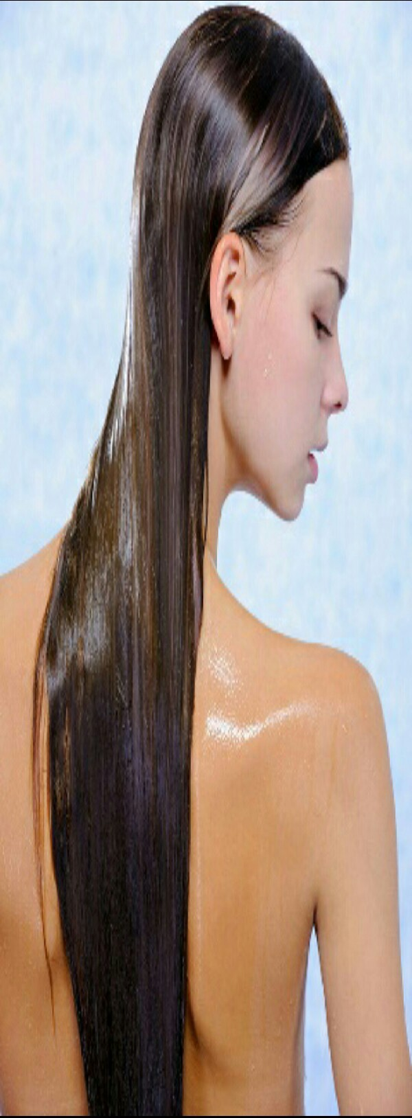 after a few hours (the longer you leave in the better) wash out the oil with a good shampoo and conditioner