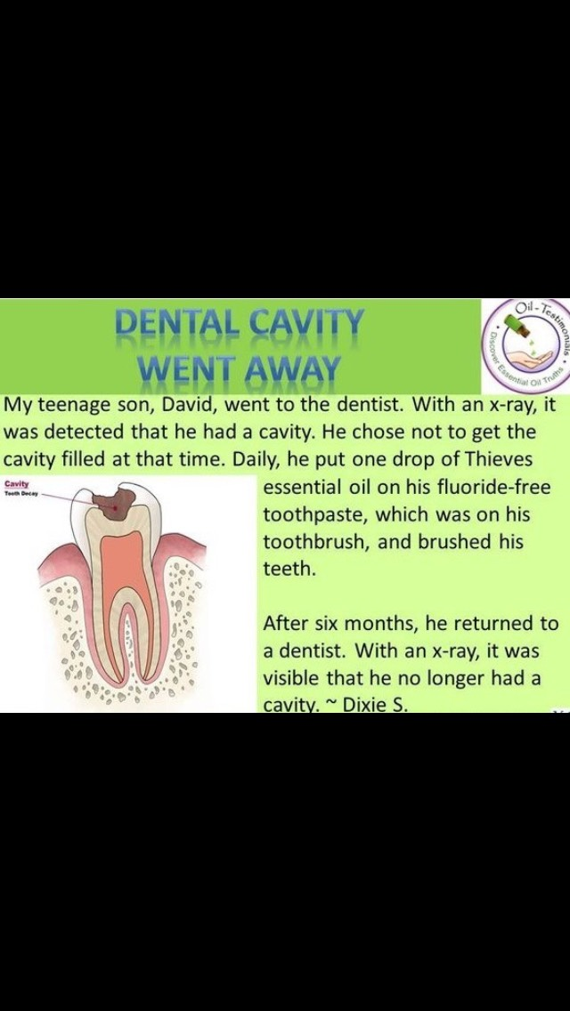 I wish I would have saw this after I had found out had 5 cavities.👉