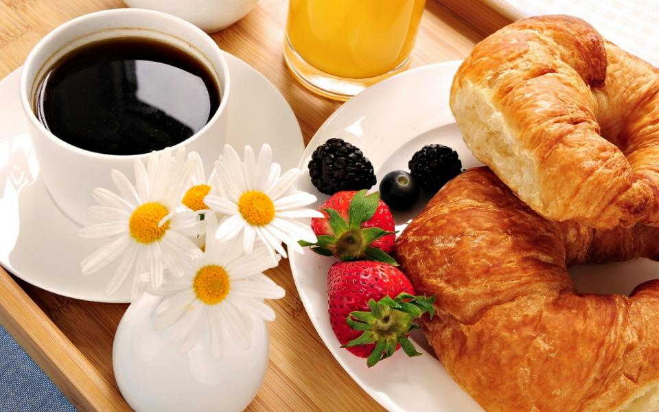 Don't skip breakfast: You know you should eat a solid breakfast, but if you're not aware, skipping it can make you consume more calories later in the day. Eating first thing in the morning will get your metabolism going and ward off hunger pangs that lead to bad food decisions later on.