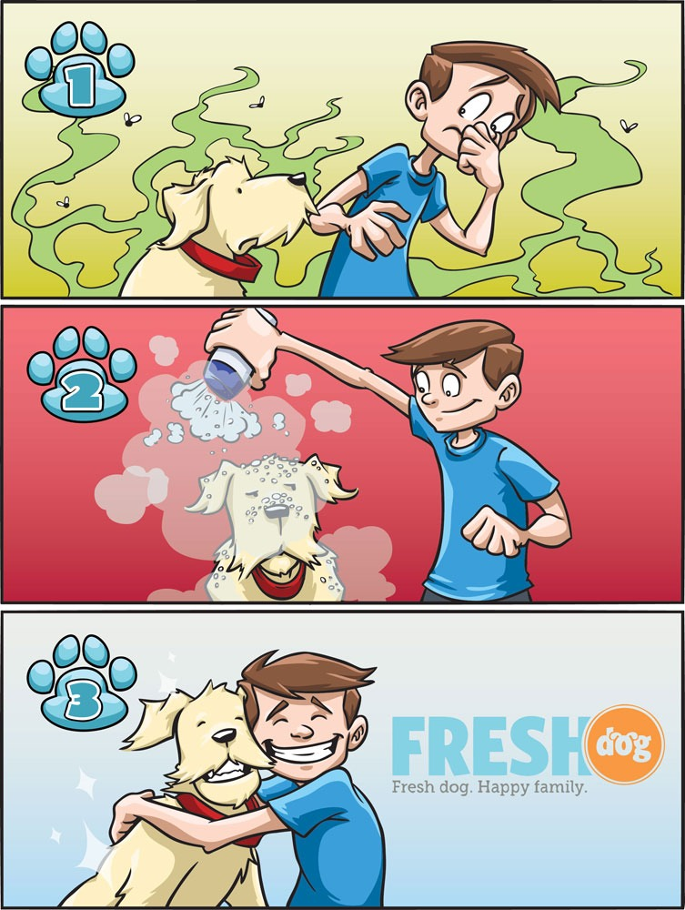 Pet dry shampoo: that's right, it doesn't have to be just for humans!