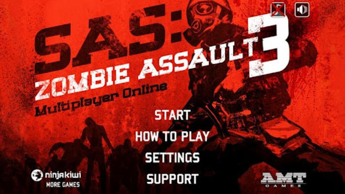 7) Sas: Zombie Assault 3 This is a epic game that was first on PC. The game is in 2D up view, but the game is epic. There are levels 1-i think 50 and hundreds f guns and armor. You can even unlock a free AI buddy to help you to kill the zombies.  My Rating: 8/10