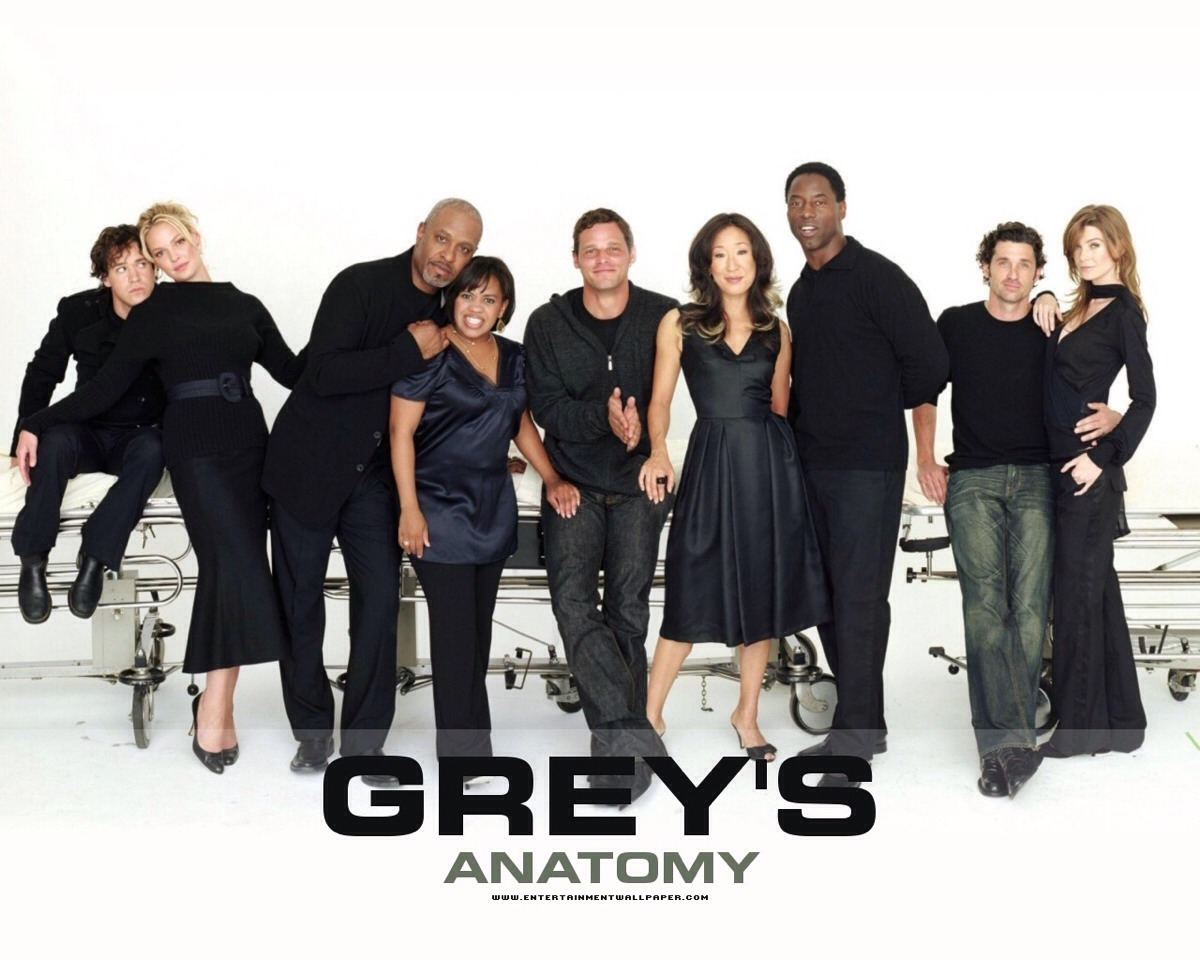 Greys anatomy! Show about doctors that involves drama and a lot of romance