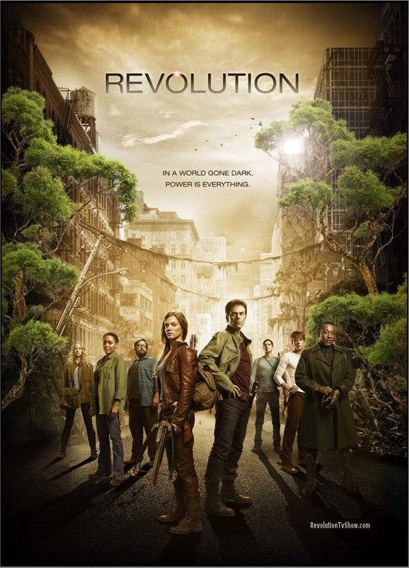 Revolution - honestly I love this show sooo much it's soooo good I love it and it's just so good sadly it got cancelled but it's worth watching! The seasons that are out.