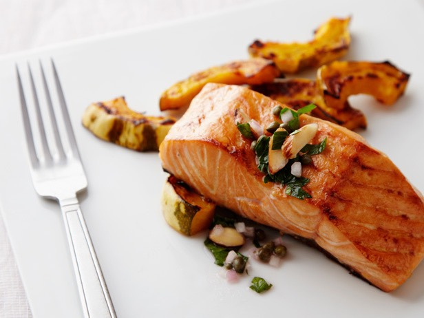 Salmon: Salmon is loaded with omega-3 fatty acids, which is beneficial for fat loss.