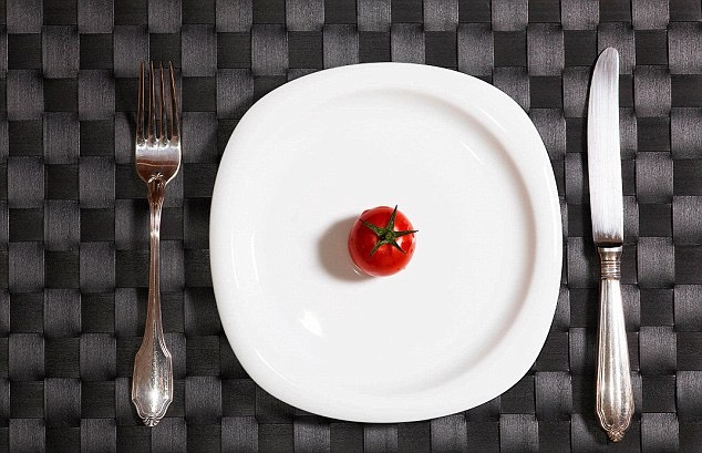 Please do not try a starvation diet 🍴 A very low-calorie diet or skipping meals to lose weight can backfire. This will slow your metabolism down