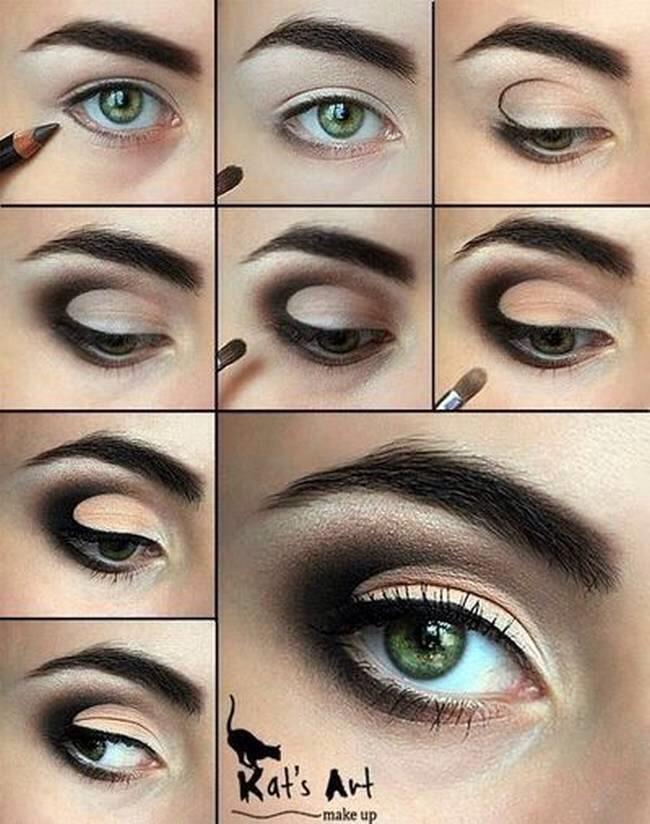 макияж на каждый день с пошаговыми фото