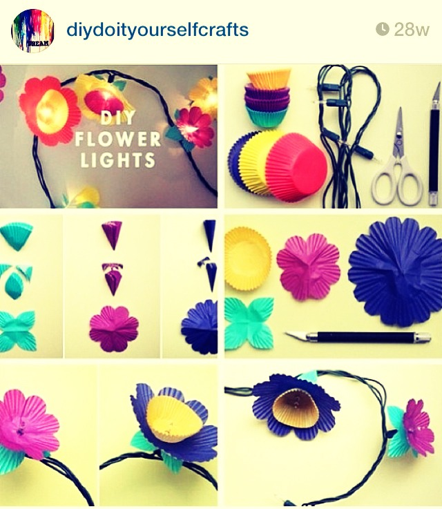 This looks very cute!  I might make some for my room. :)