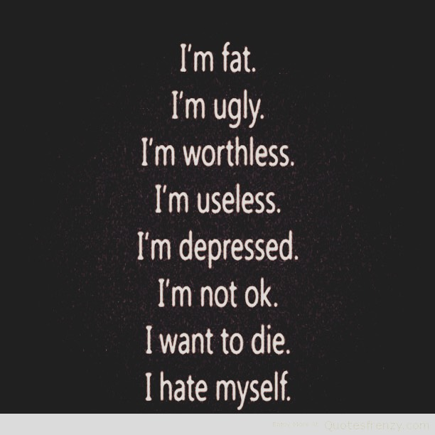 These are just some of the reasons people cut them selfs or commit suicide😔
