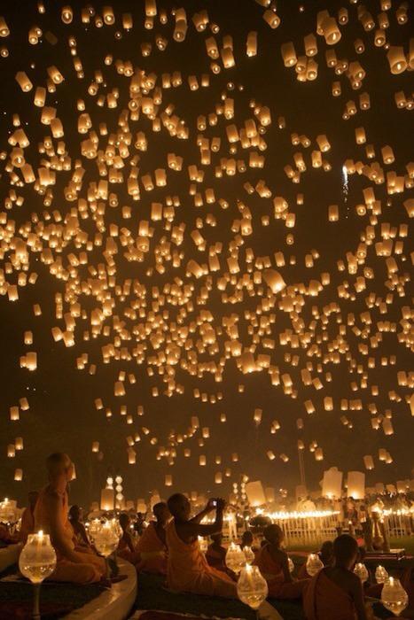 3. Light some lanterns