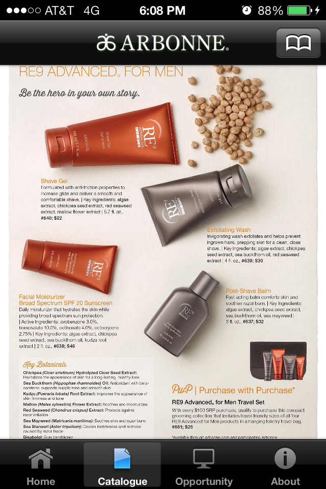 Men's anti-aging, from the men that I know that use these products they say it's awesome!