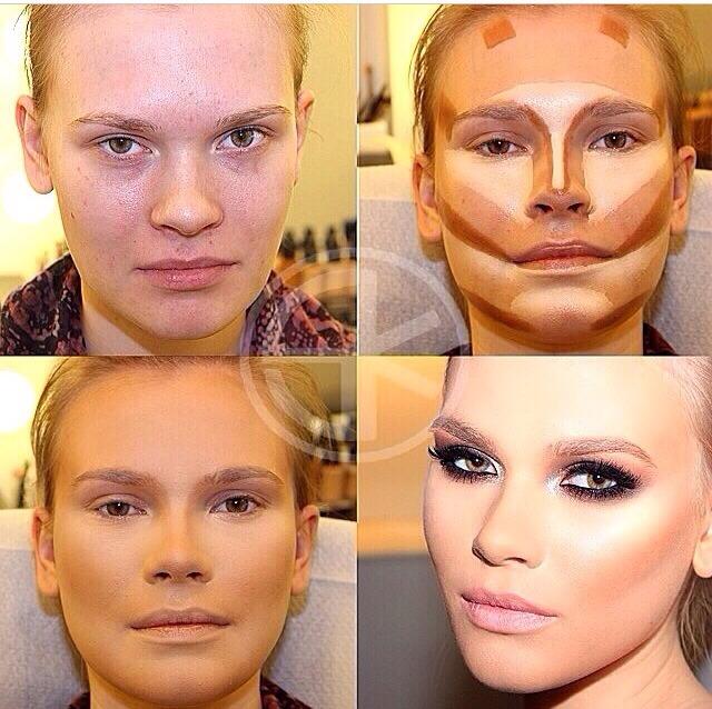 Поэтапное нанесение макияжа: мастер