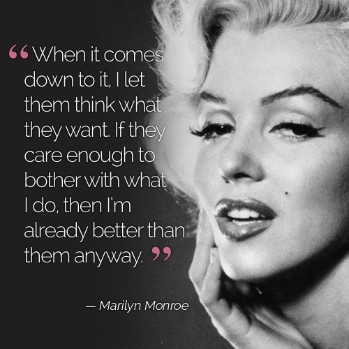 Marilyn Monroe Quotes By Roxxanne Moore Musely