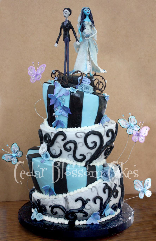 The Corpse Bride Wedding Cake Topper - Best Wedding Cake 2018