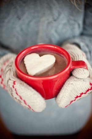Put the whip cream in a pan smooth out for a thick layer and freeze in the freezer. Then use a cookie cutter to cut hearts out and place in your hot chocolate on a cold day! Enjoy and 👍 thanks