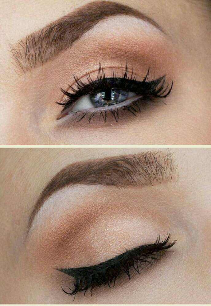 I do I simple wing liner with it