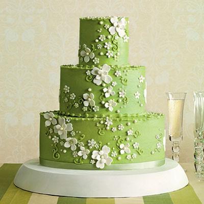 Spring Field cake