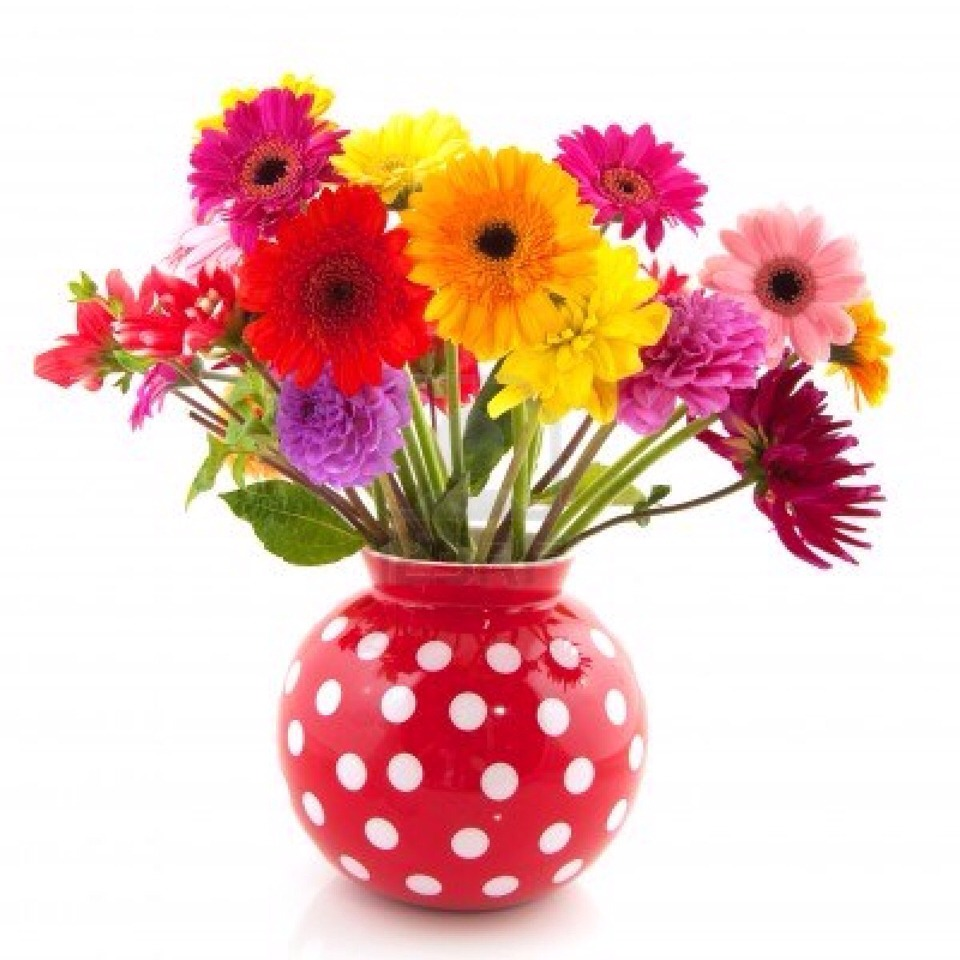 Pour a bit of vodka into vase water to extend the life of your flowers.