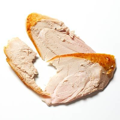 """Eat more turkey """"Lean protein helps you stay fuller for longer; it has the amino acids that are the building blocks for muscle. Chicken, fish, beans and other vegetarian options are good, too."""