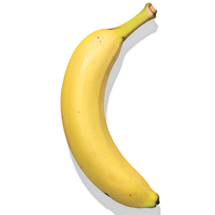 BANANA Naturally prepackaged goodness you can take anywhere, with the added benefit of cramp-preventing potassium.