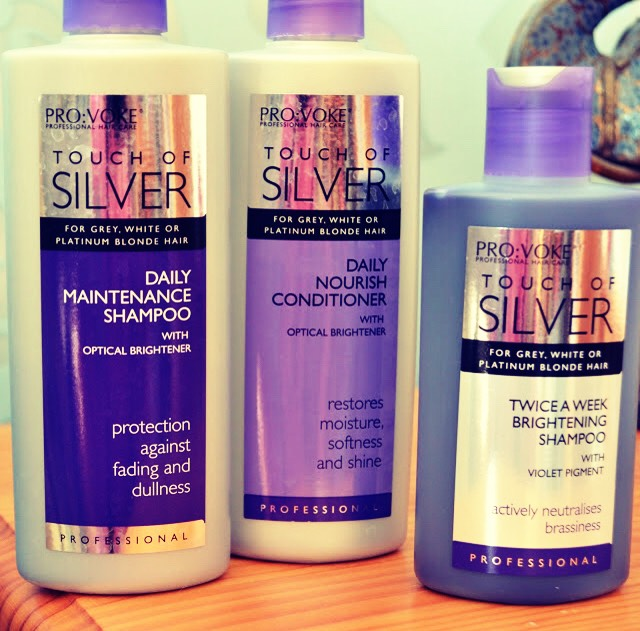 This is silver shampoo, you can literally buy it from anywhere. Yes, I know what your thinking it's purple, but just forget about that.