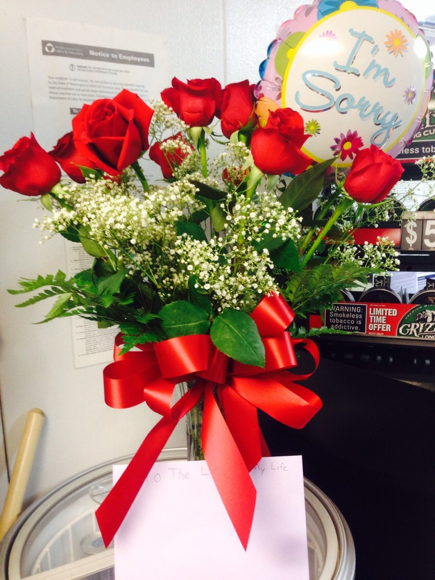 The flowers I received and am maintaining with these tips! (: