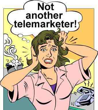 """Mess with telemarketers! Some aren't allowed to hang up. So answer the call, take a shower, have a snack, and then say """"no thanks""""."""