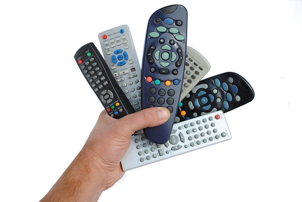When's the last time you sanitized your tv remote? Or DVD remote? Or game controllers!?