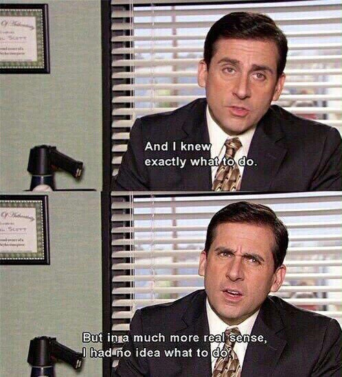The office has everything you can ask for in a show. It's funny, it's sad, theresa love story involved. it's perfect.