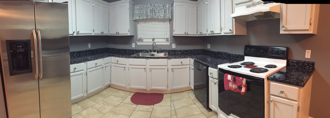 After pics of whole kitchen