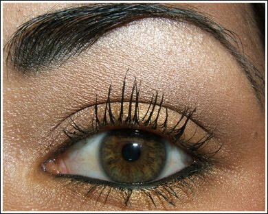Bottom waterline, be careful as this only suits certain type of eyes. For people with bigger eyes apply liner to bottom waterline as this will give more intensity to the edges of the iris. For people with smaller eyes don't do this as it will make your eyes look even smaller (not a good look).