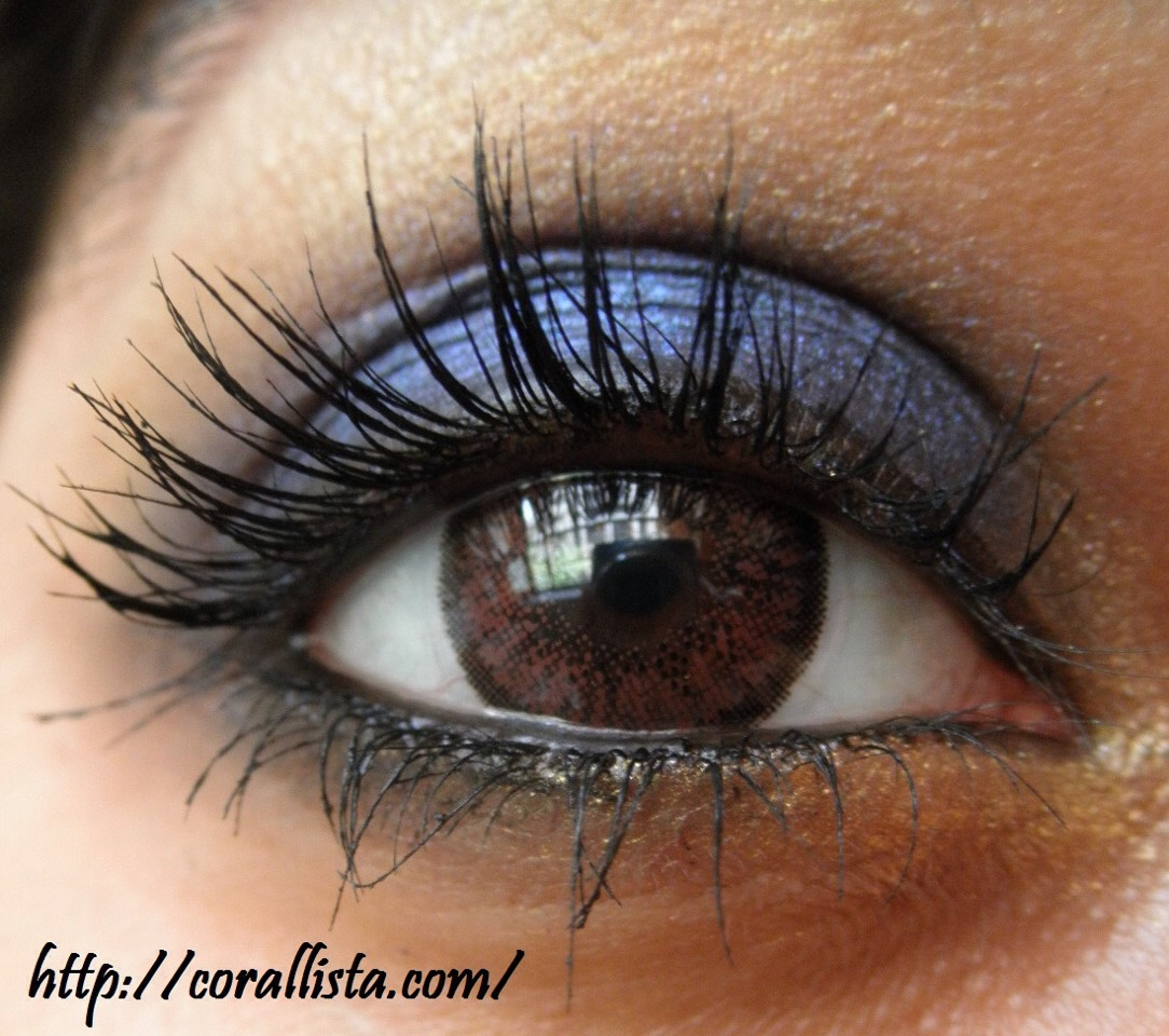 Some brownies think they can't use blue on Their eyes but it totally works! Purples blues and green will add a dramatic effect !
