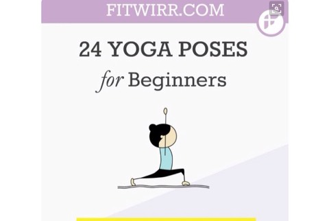 Basic Yoga Poses For Beginners Chart
