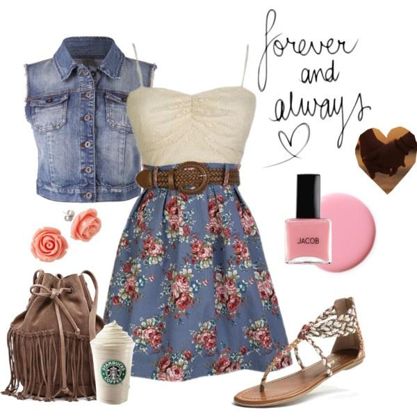 "Polyvore is a website were you can create ""sets"" Like the next 3 pictures, get followers, likes, and views!"