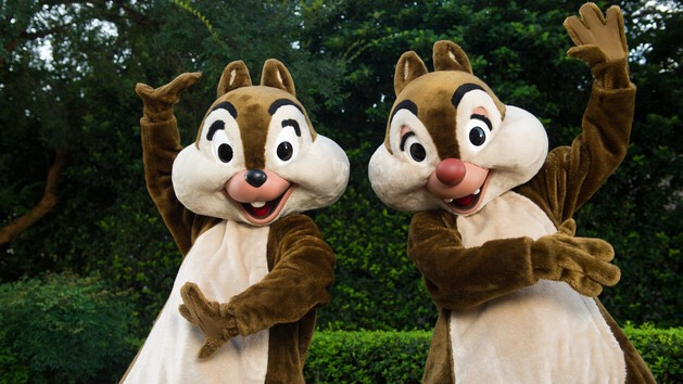 Chip & Dale Located at Future World West