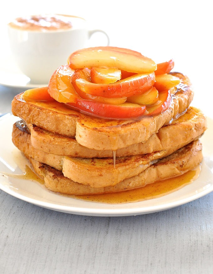 http://www.recipetineats.com/fast-french-toast-cinnamon-apples/