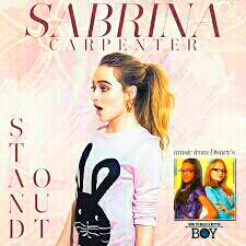 Sabrina Carpenter Stand Out is the last song, its so moving and you wont want it to be over.