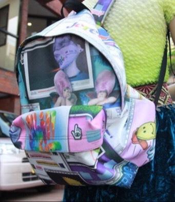 A cute bookbag c: