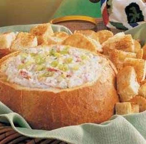 Baked crab dip!!